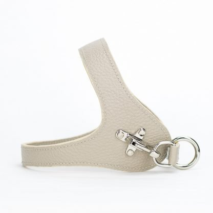 dog harness beige colour
