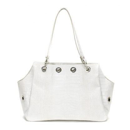 pet carrier white
